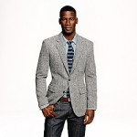 Grey Wool Blazer by  J. Crew