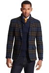Plaid Blazer by  Tommy Hilfiger
