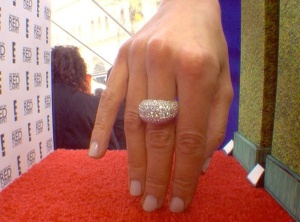 Giuliana Rancic Mani Cam at 2015 SAG Awards
