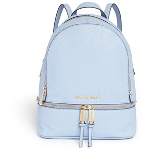 Michaek Kors Rhea Bagpack in Baby Blue