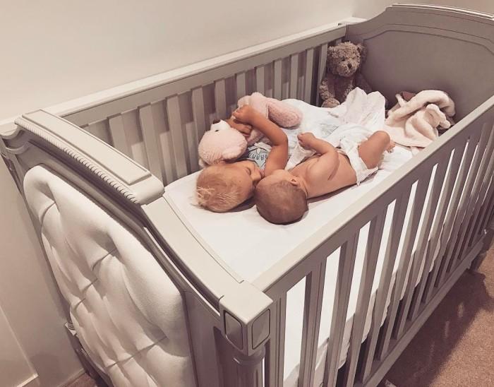 Tammy Hembrow's Baby Crib Photo credit: Tammy Hembrow's Instagram