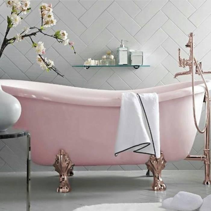 pinkgoldbathtub
